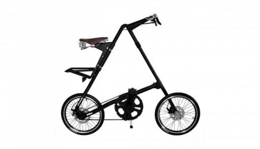 The STRIDA's unique triangular construction allows it to fold down in just a few seconds
