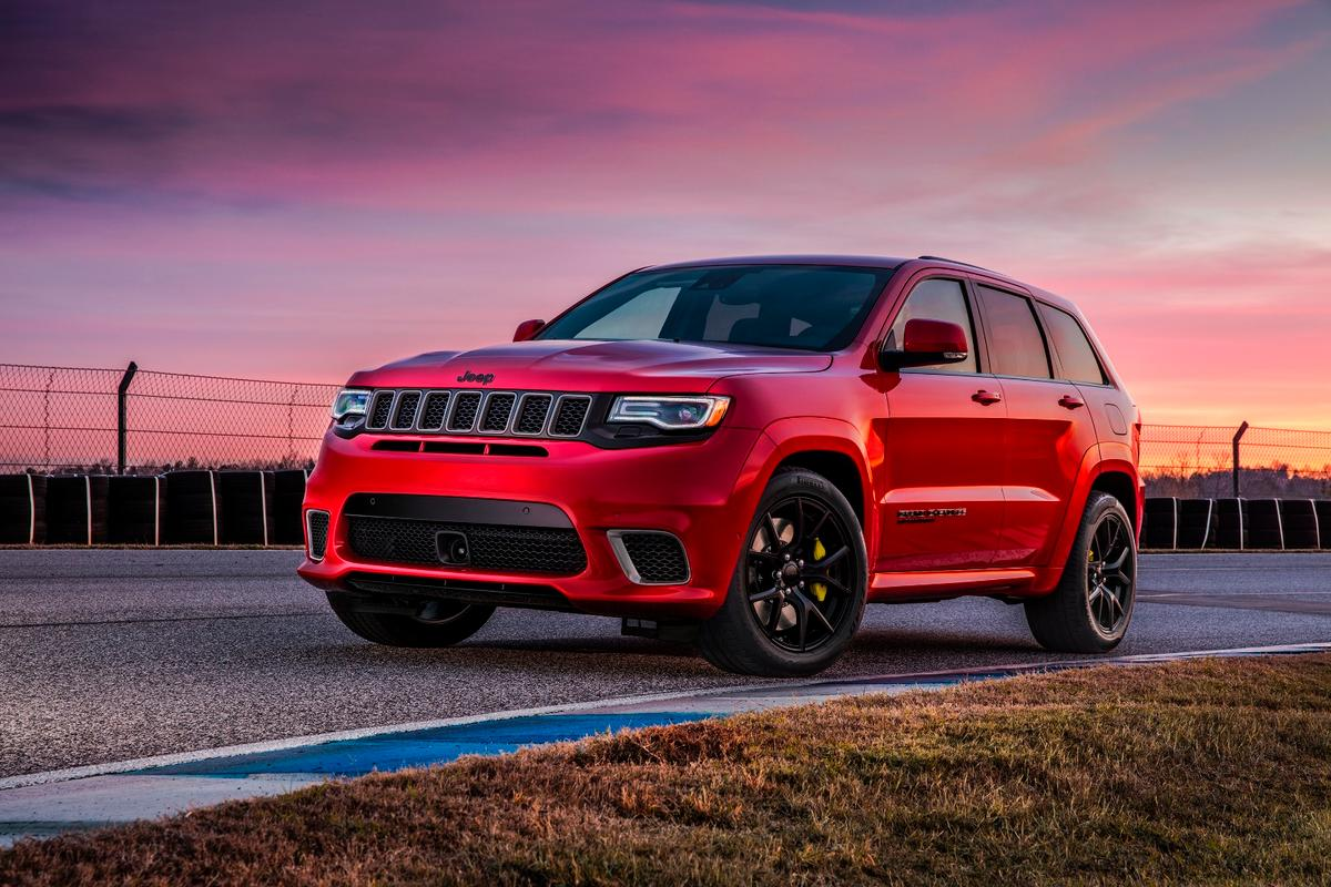 The 707-hp Jeep Grand Cherokee Trackhawk prices in just under $87K, after delivery