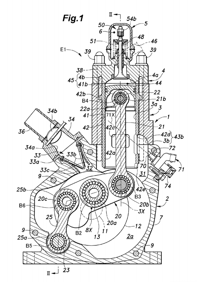 [DVZP_7254]   Honda files patents for brand new, fuel injected two-stroke engine | 2 Engine Diagram |  | New Atlas