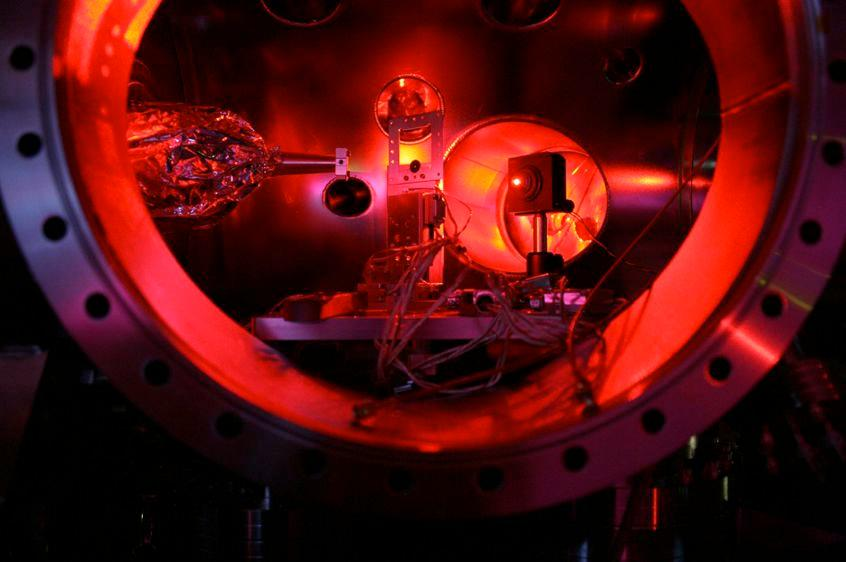 SLAC's LCLS is the world's most powerful X-ray laser (Photo: University of Oxford/Sam Vinko)