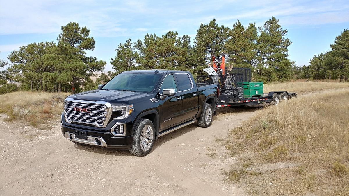 The new GMC Sierra Denali truck is very well done, though not without its flaws