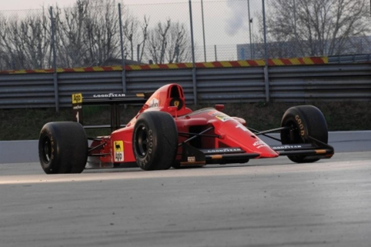 Alain Prost's 1990 Ferrari 641/2 F1 car is to be auctioned on May 17