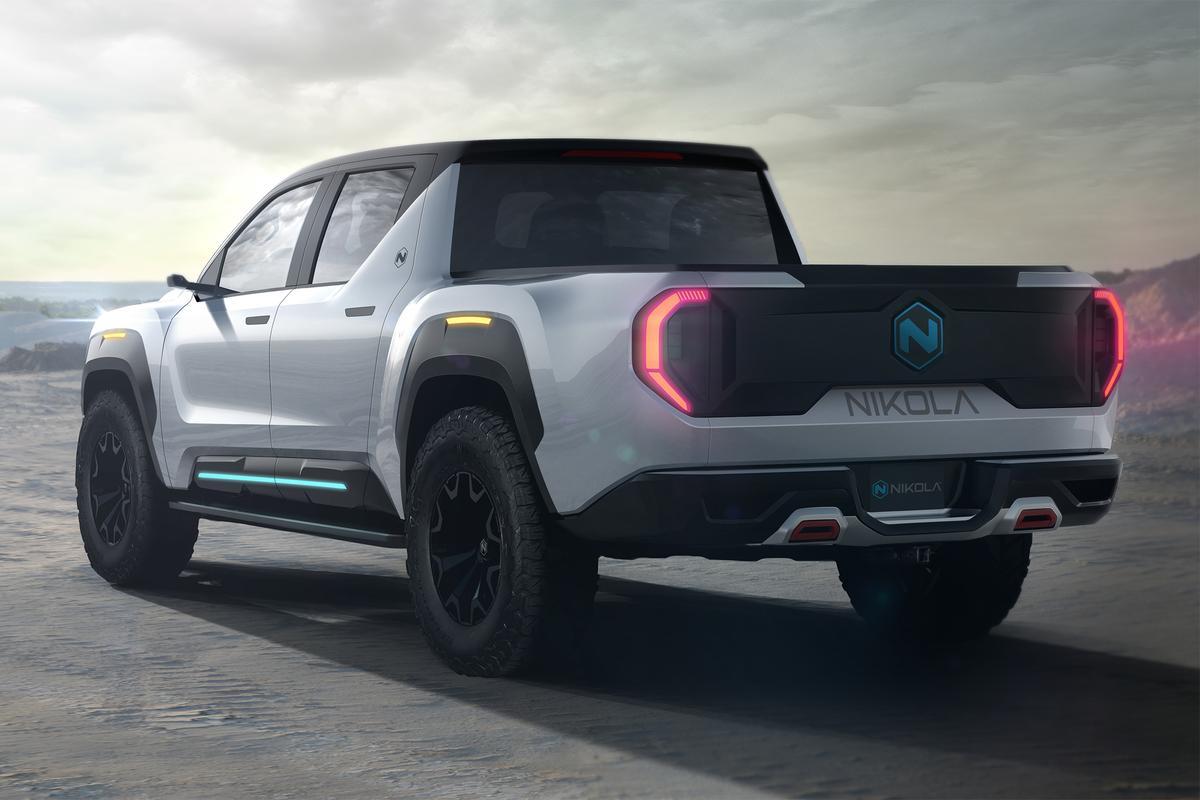 Nikola Motors is making big promises for its upcoming Badger pickup truck