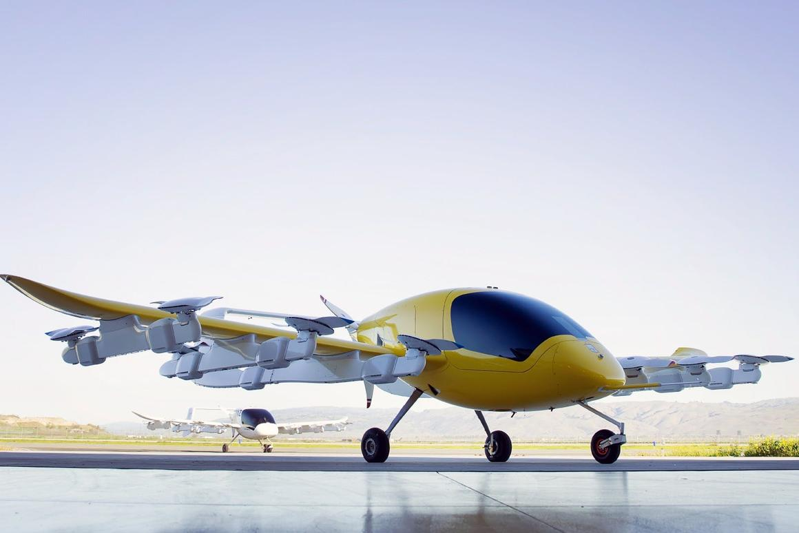 Boeing throws its weight behind Larry Page's flying taxi startup