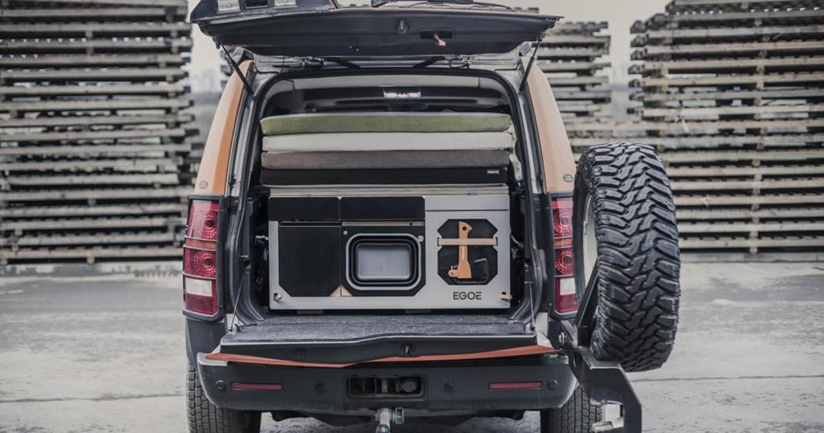Egoé Nestbox hits the US to turn the Jeep Wrangler into a camper van