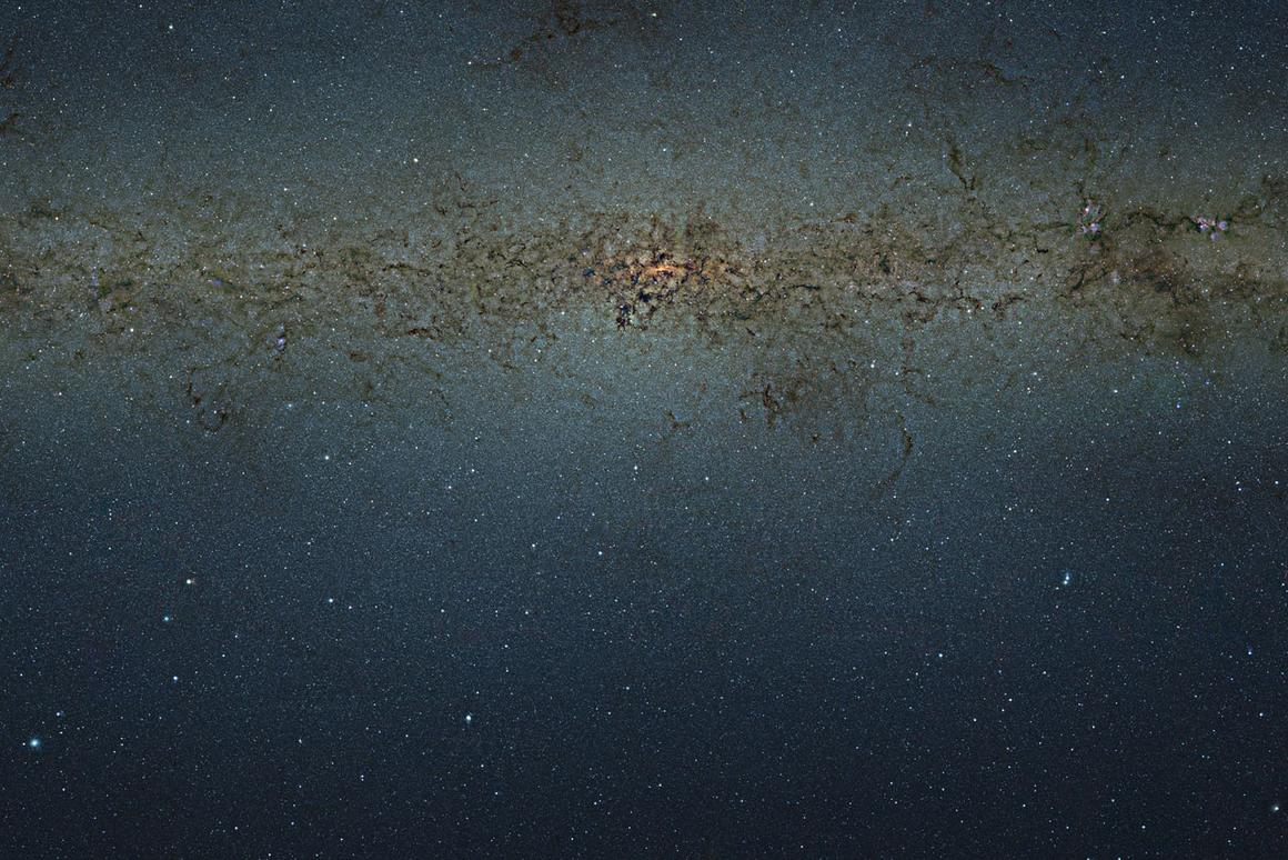 The huge 9-gigapixel image contains some 84 million stars