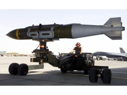 The CMS doesn't exist just yet so we took the editorial liberty of using a picture of a weapons loader (Staff Sgt. Jessica Kochman) preparing a GBU-31 guided by the Joint Direct Attack Munition for a mission at a forward-deployed location in Iraq.