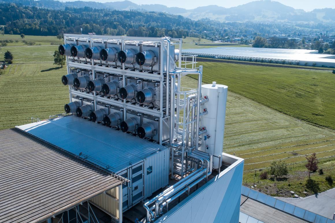 Climeworks has opened its first Direct Air Capture (DAC) plant, which captures CO2 from a waste recovery facility in Zurich, Switzerland