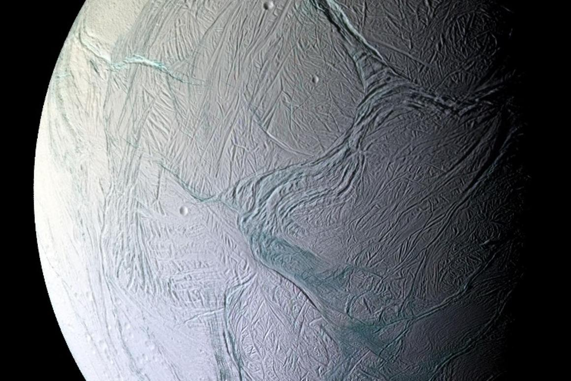 Scientists have recreated conditions found on Saturn's icy moon Enceladus, and discovered that some earthly bacteria can survive