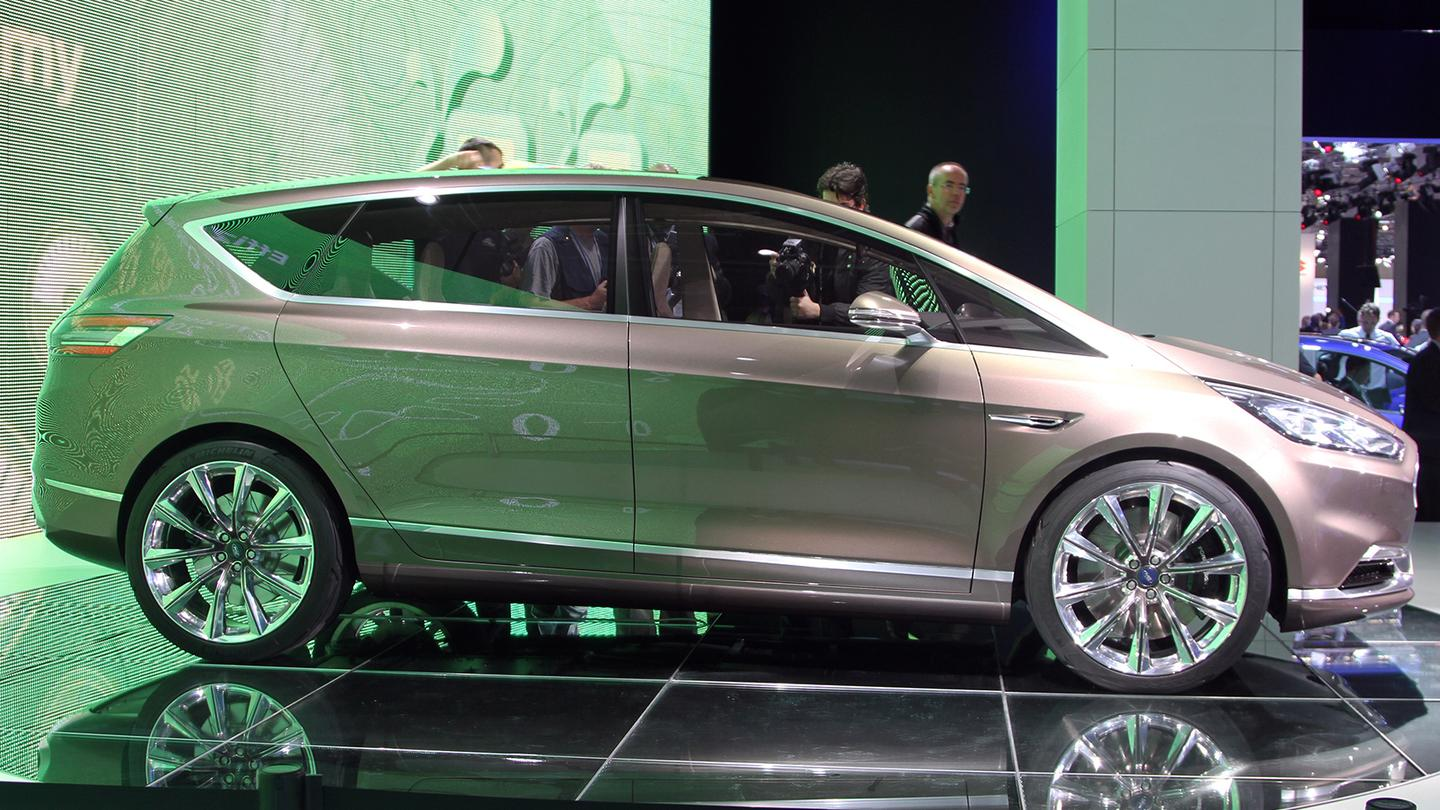 The unveiling of the Ford S-Max Concept