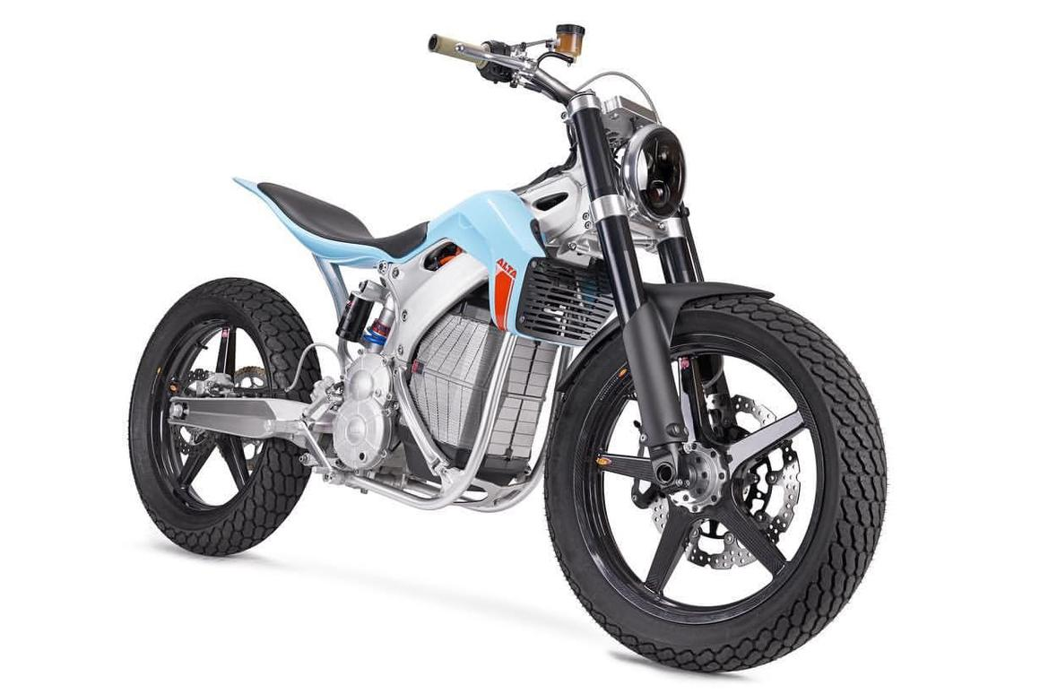 The Street Tracker is anelectricflat track concept bikethat could soon transform to a very tasty commuter byAlta Motors