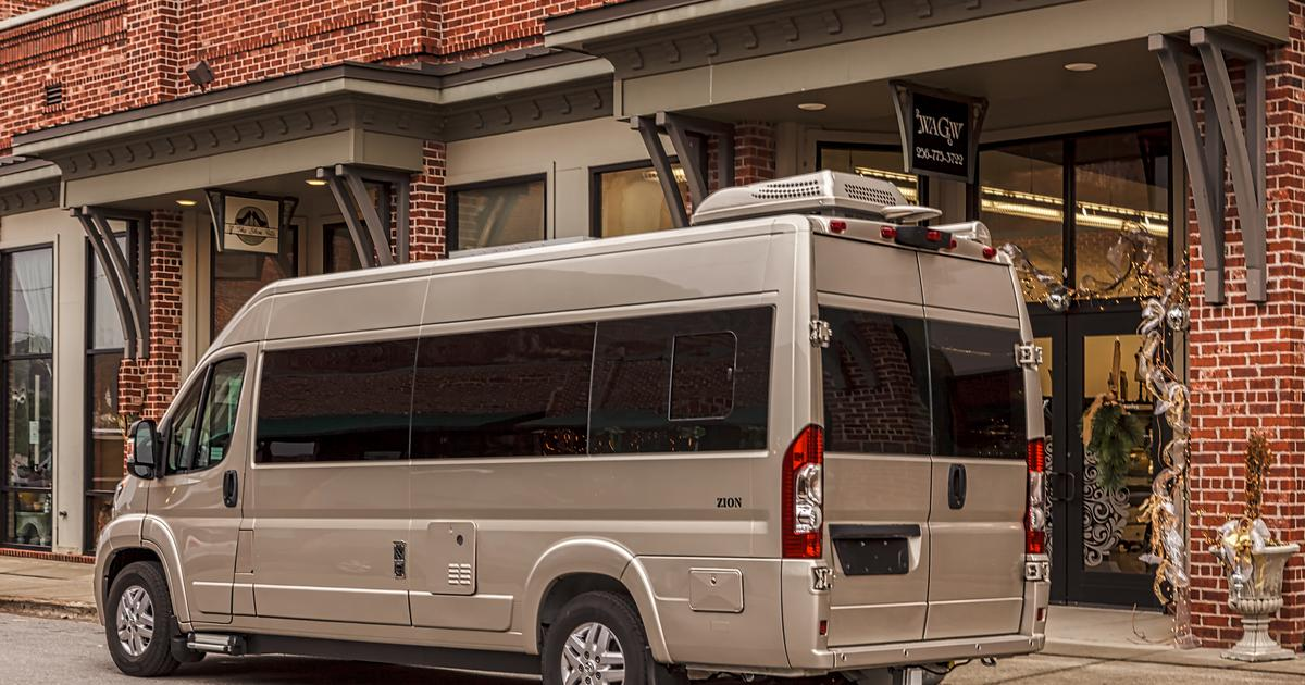 Roadtrek converts Ram ProMaster into a cushy, spacious campervan