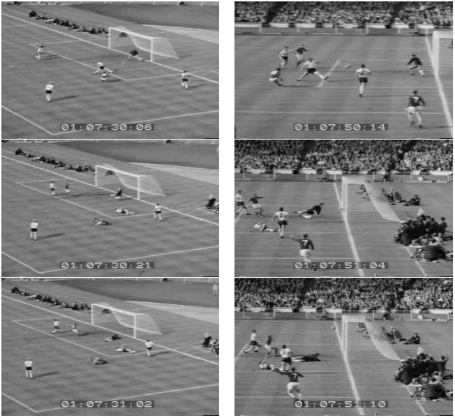 A 1996 study at Oxford University concluded that Geoff Hurst's controversial goal during the 1966 World Cup Final should have been disallowed (Image: Oxford University)