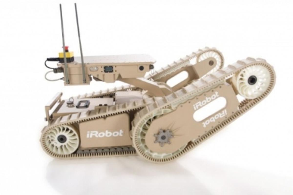 The iRobot Warrior 700 provides a versatile accessory platform