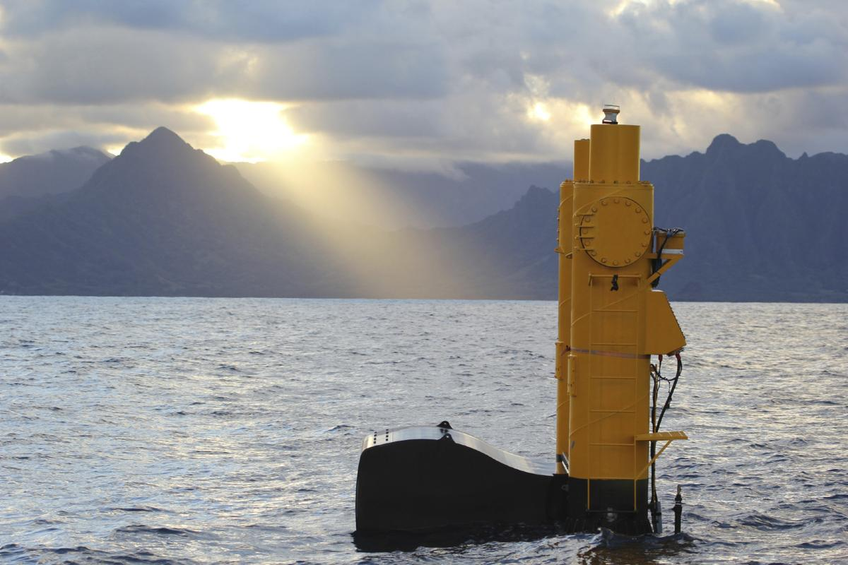 The Azura device in Kaneohe Bay