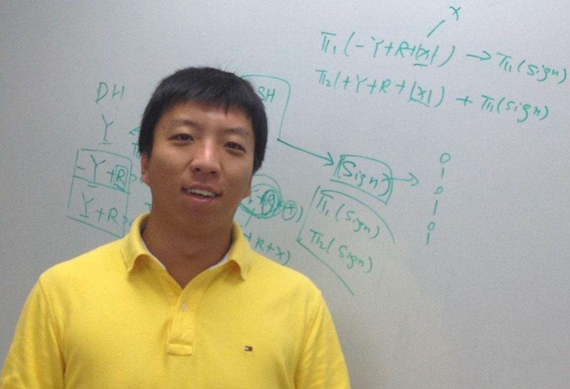 Qia Wang and his colleagues have developed a smartphone app that can calculate the location of distant objects and track their speed and direction
