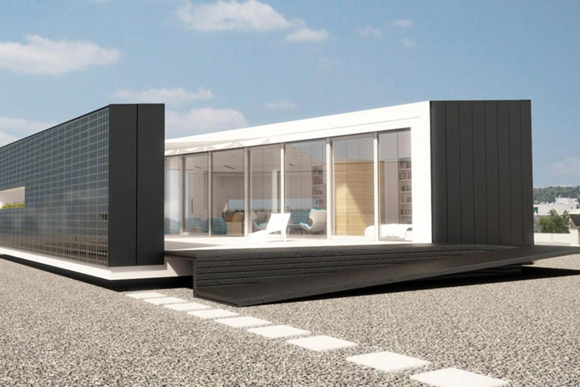 Budapest University students have created an innovative solar-powered prefab home for the 2012 European Solar Decathlon