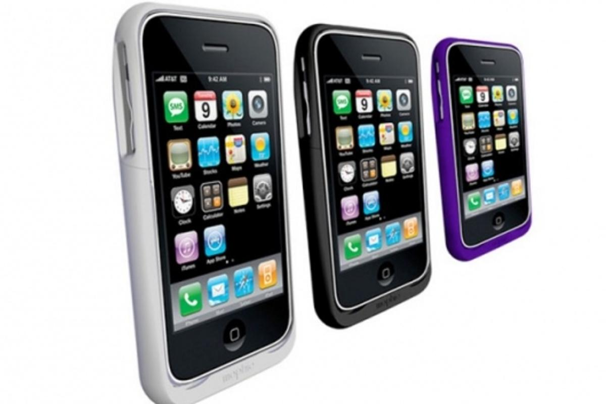 The Mophie juice pack air comes in a range of colors