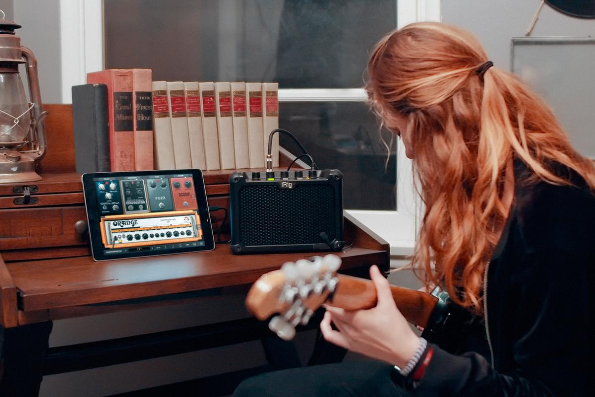 The iRig Micro Amp comes bundled with IK Multimedia's powerful amp and stomp software, AmpliTube