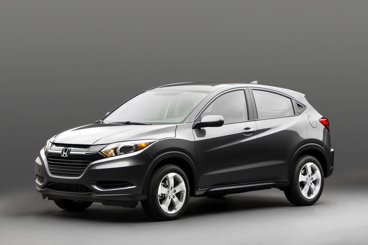 The Honda HR-V compact SUV