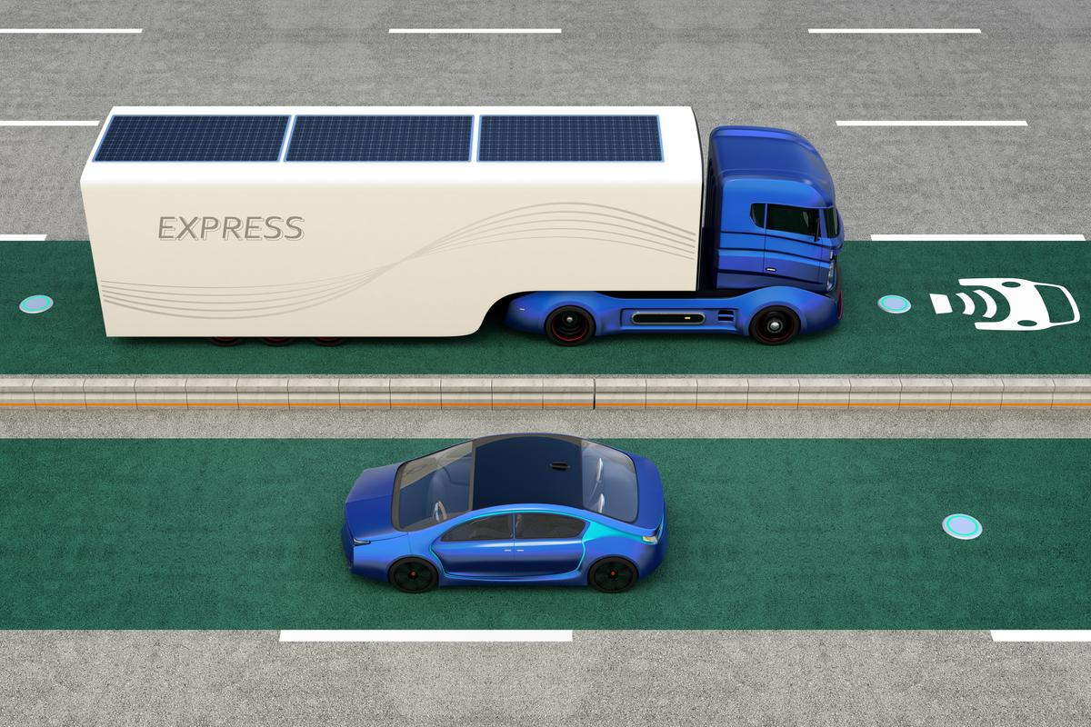 "The researchers say that the system could be scaled up to wirelessly transmit ""tens or hundreds of kilowatts"" of power to moving vehicles"