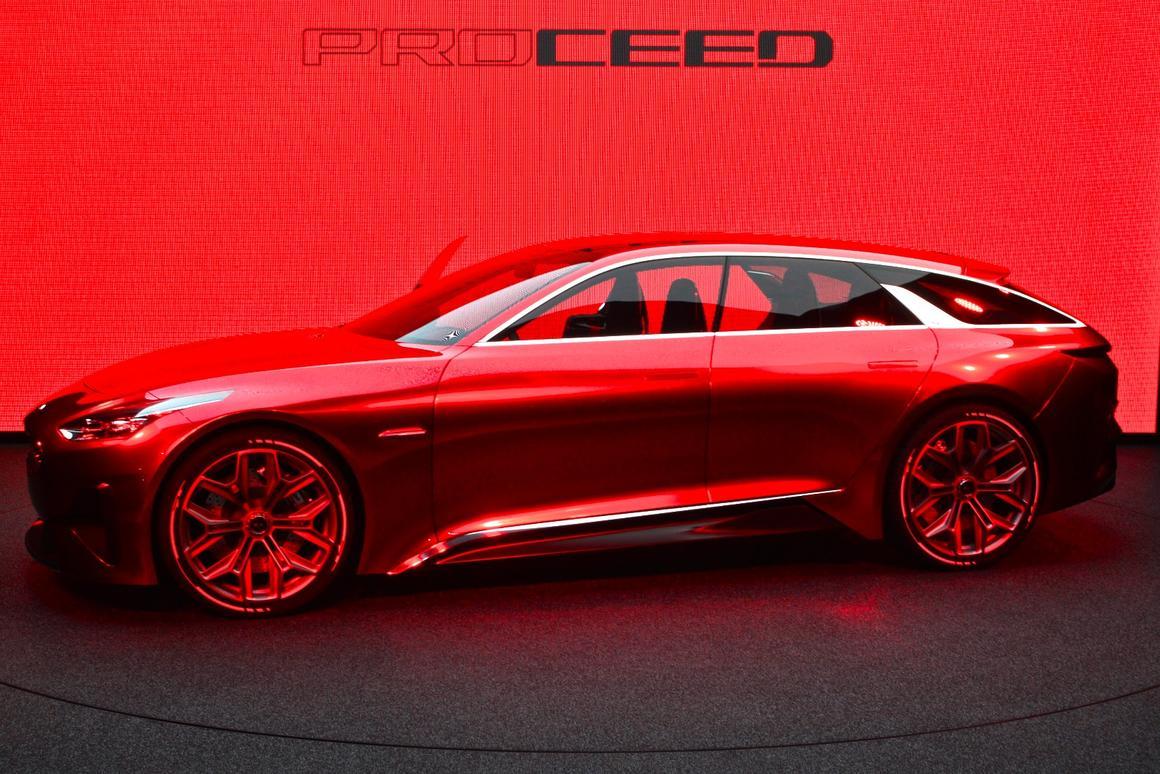 Kia Proceed Concept world premiere