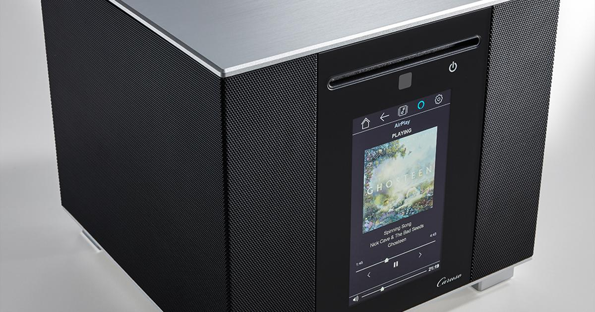 """Compact Caruso all-in-one fills the room with """"audiophile sound"""""""