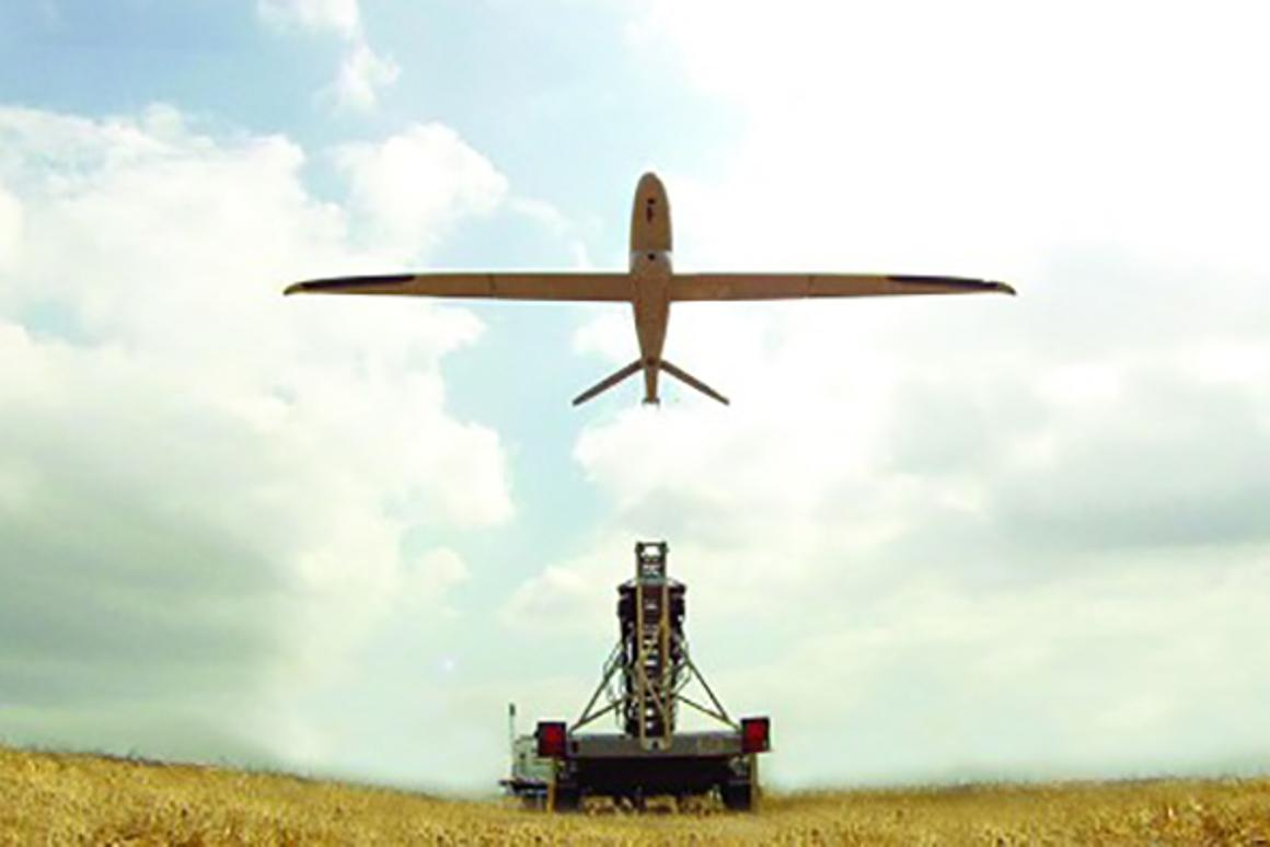 """Elbit says the Skylark 3 is aimed at military working in """"beyond the next hill"""" missions"""