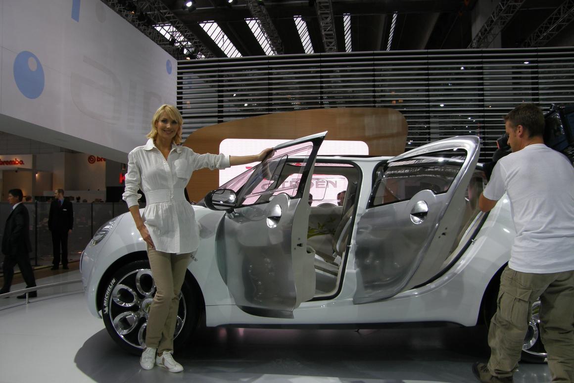 The Citroen C-Cactus ecological concept car