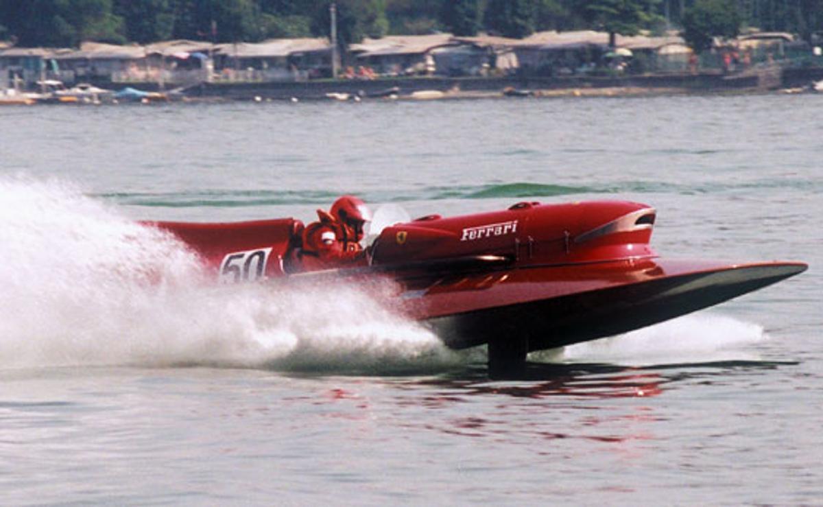 The Ferrari ARNO XI hydroplane