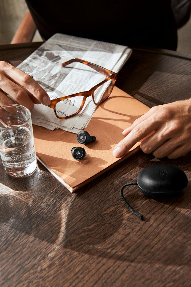 No cables here: The Beoplay E8 truly wireless earphones from Bang & Olufsen