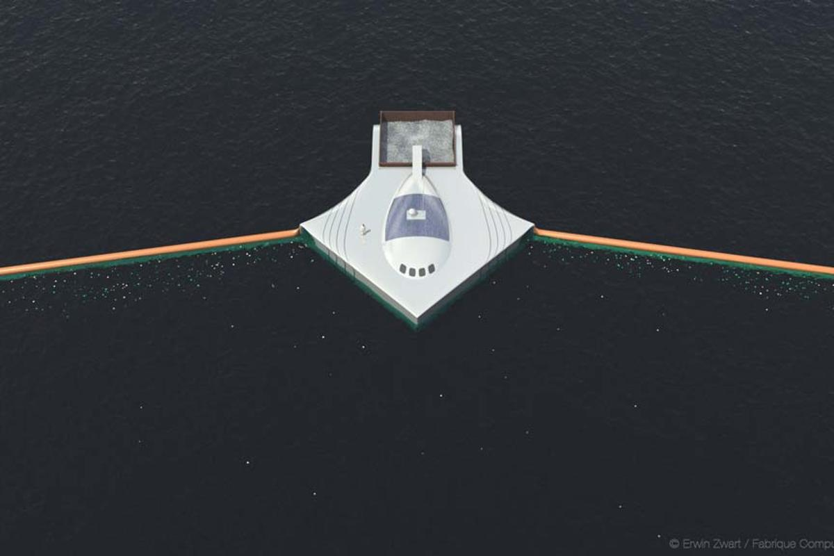 The Ocean Cleanup Project hopes to utilize the oceans' gyres as a means to collect plastic waste