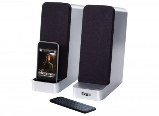 iHome's iPod-ready computer speakers