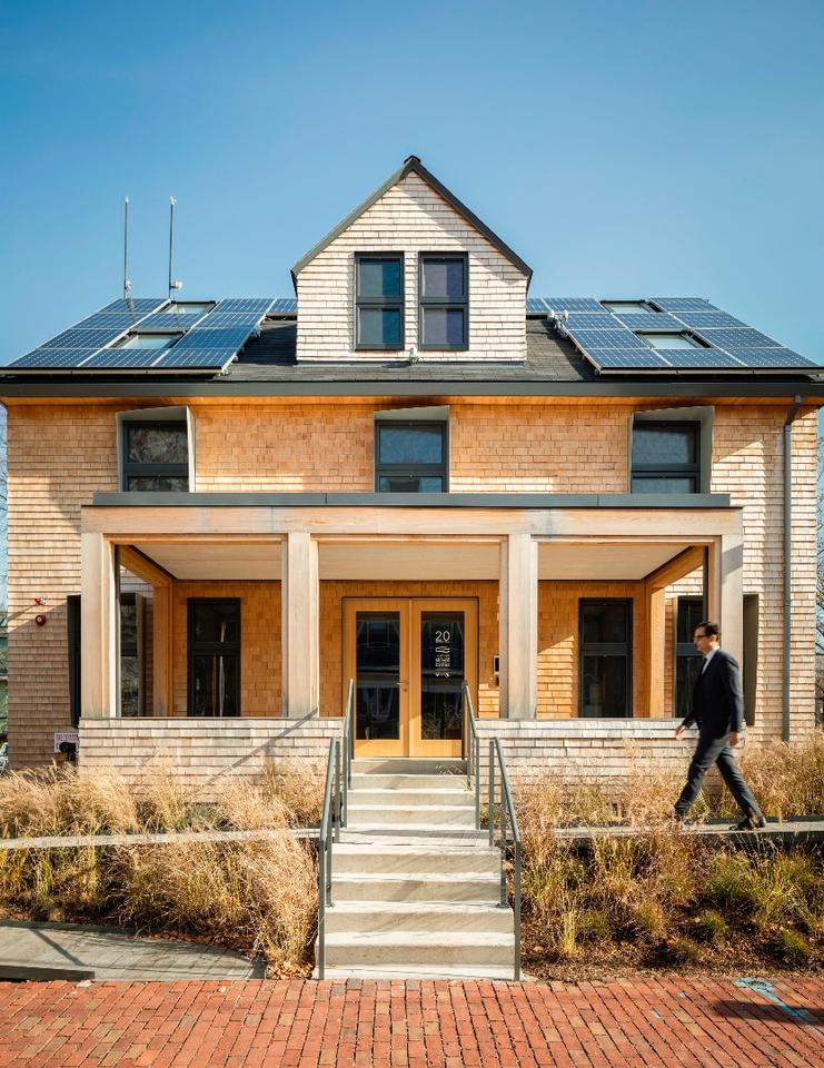 Snøhetta has teamed up with Harvard's Green Buildings and Cities at the Graduate School of Design to create HouseZero