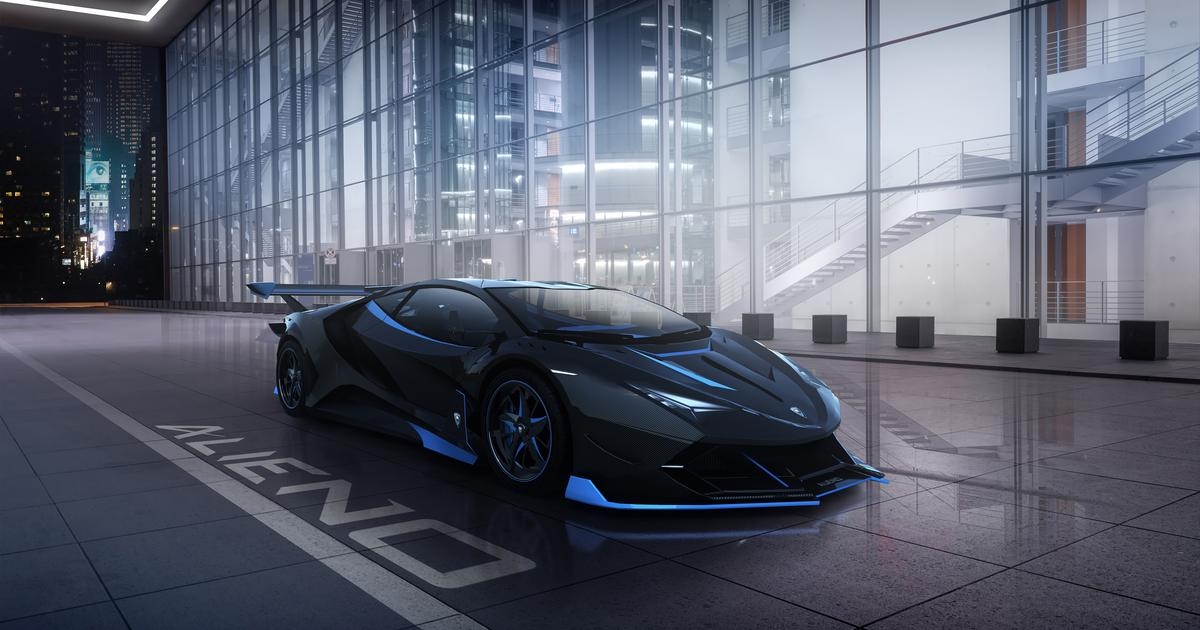 Alieno Arcanum: What's going on with the 5,221-hp Bulgarian Batmobile?