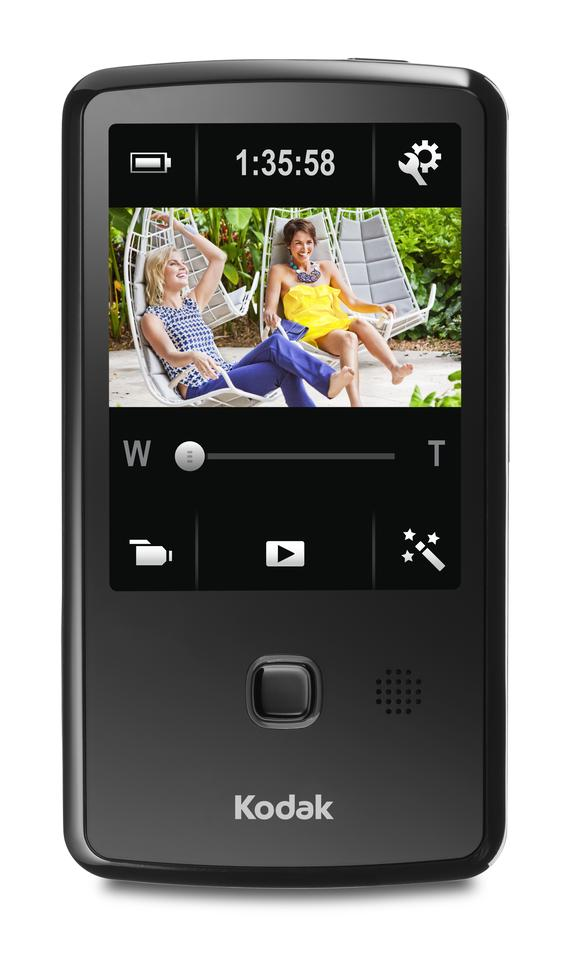 The PLAYTOUCH video camera records to full 1080p high definition and features a social network and email share button