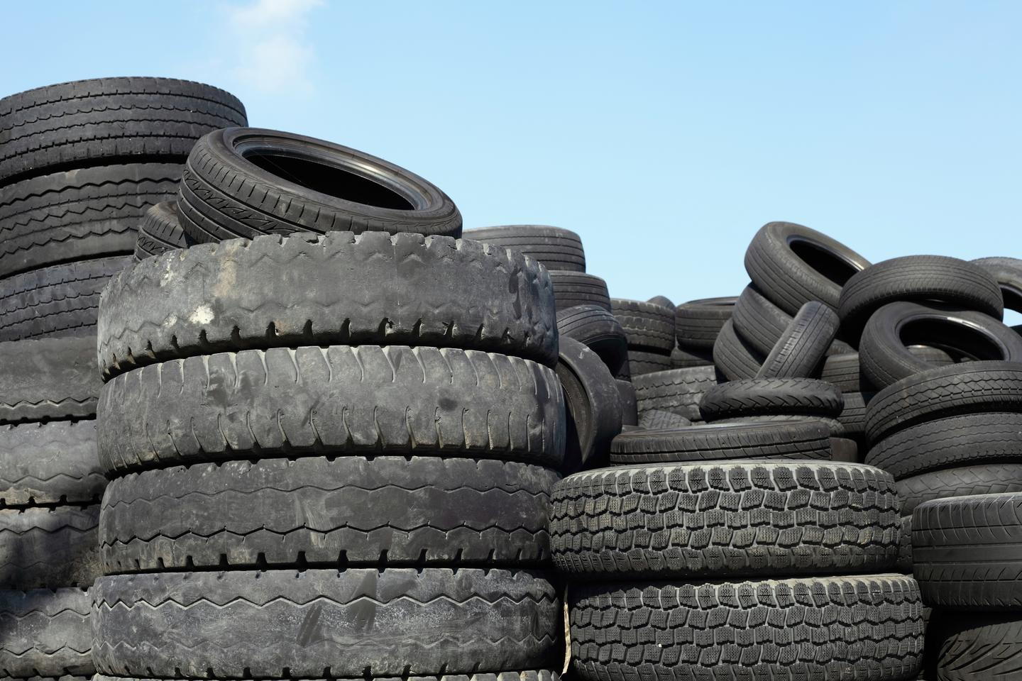 Along with using polymer fibers from tires to help release moisture from hot concrete, the scientists are also looking at using tire-derived steel fibers to help hold the material together