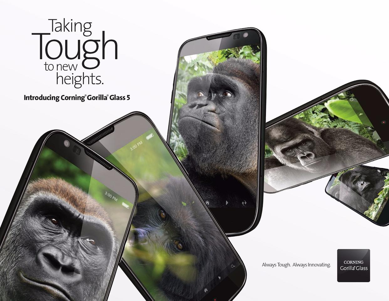 Corning Gorilla Glass gets even tougher for version5