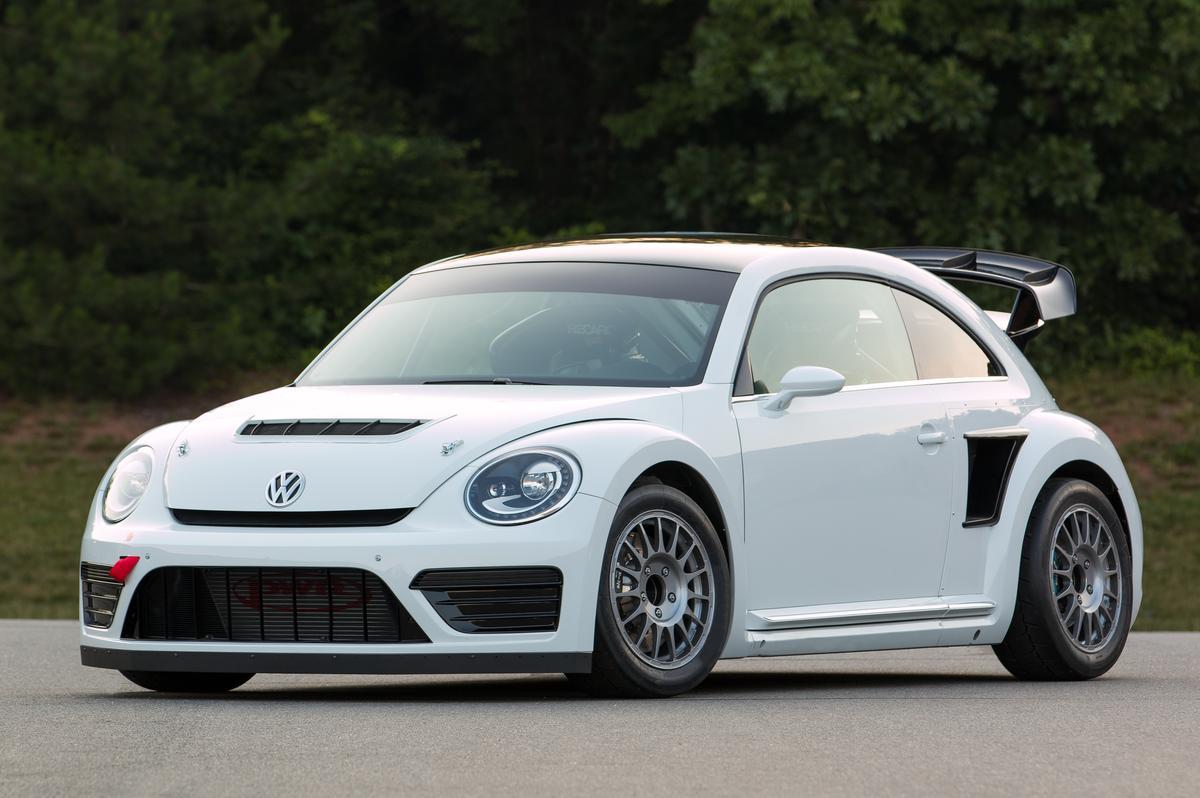 VW's new Rallycross Beetle