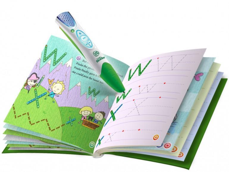 LeapReader Pen apprend aux enfants à lire et à écrire