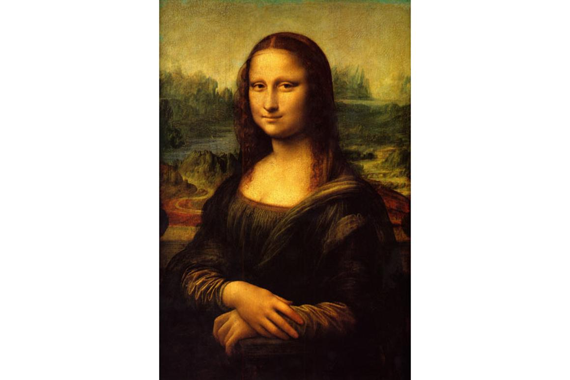 Leonardo da Vinci used the golden ratio in the Mona Lisa