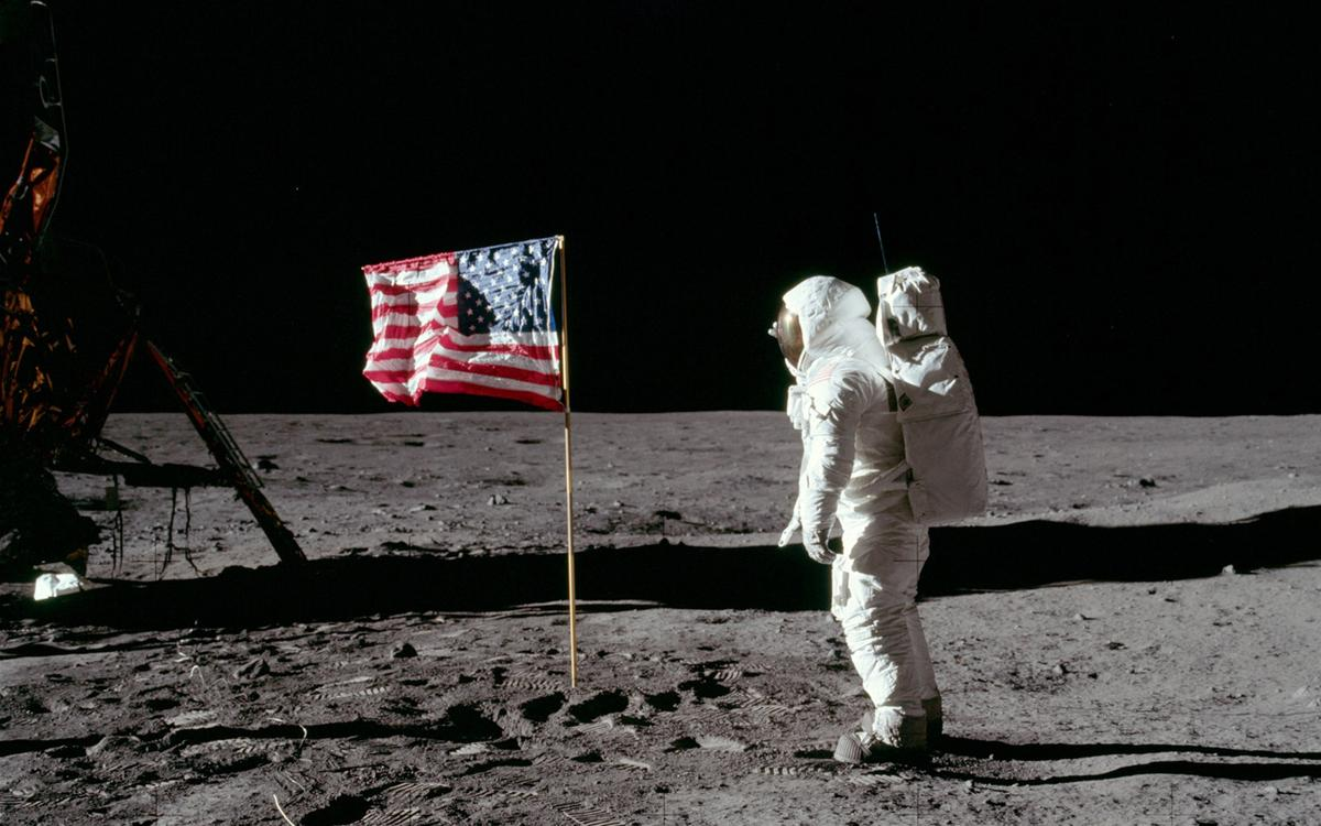 Buzz Aldrin at Tranquility Base (Photo: NASA)