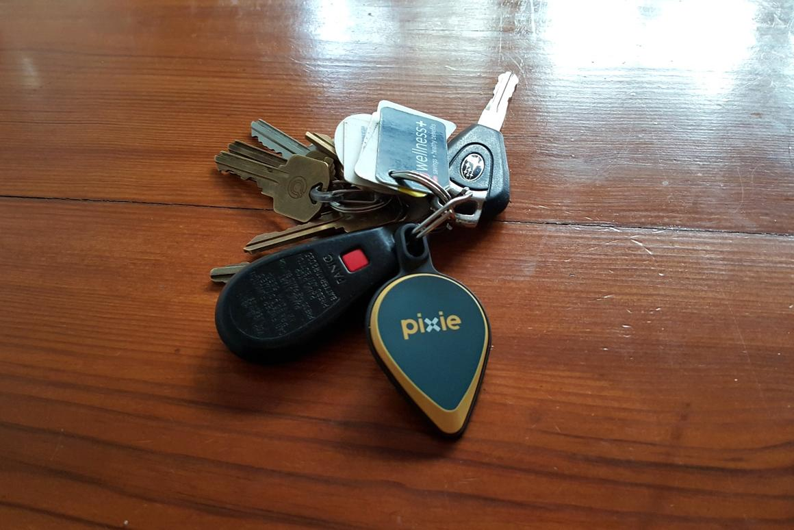 A Pixie set comes with two key fobs