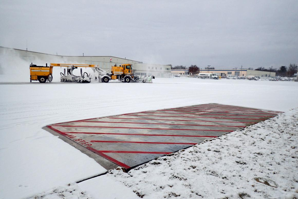 The testbed at Des Moines International Airport
