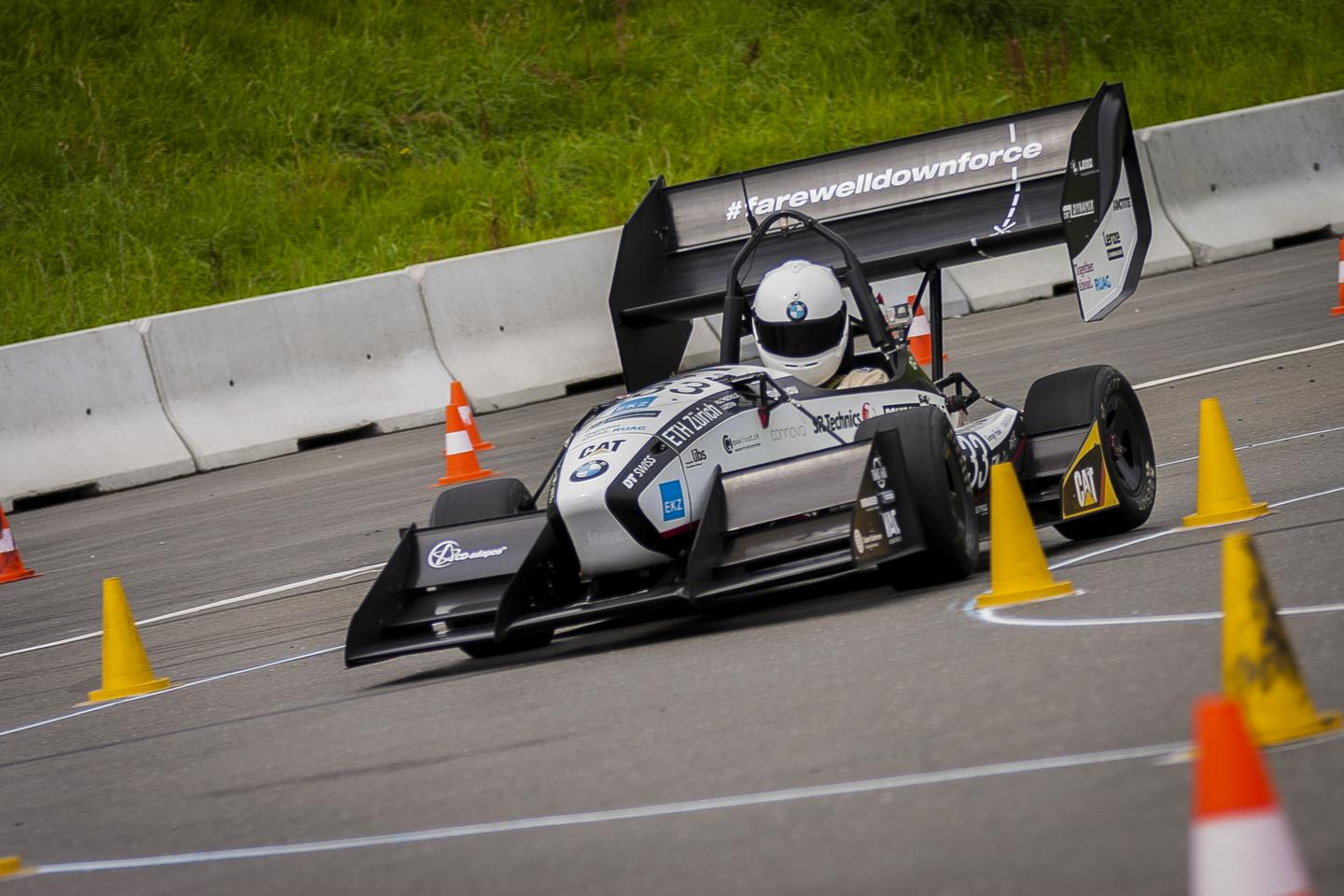 The vehicle was developed and built in less than 12 months by a team of students at ETH Zurich and Lucerne University (Photo: AMZ Racing)