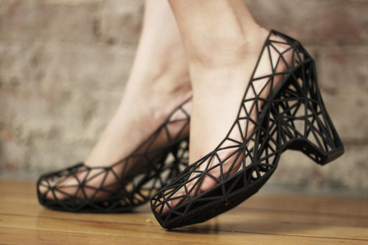 """Continuum claims that its 3D-printed shoes are """"incredibly strong"""" despite their delicate appearance"""