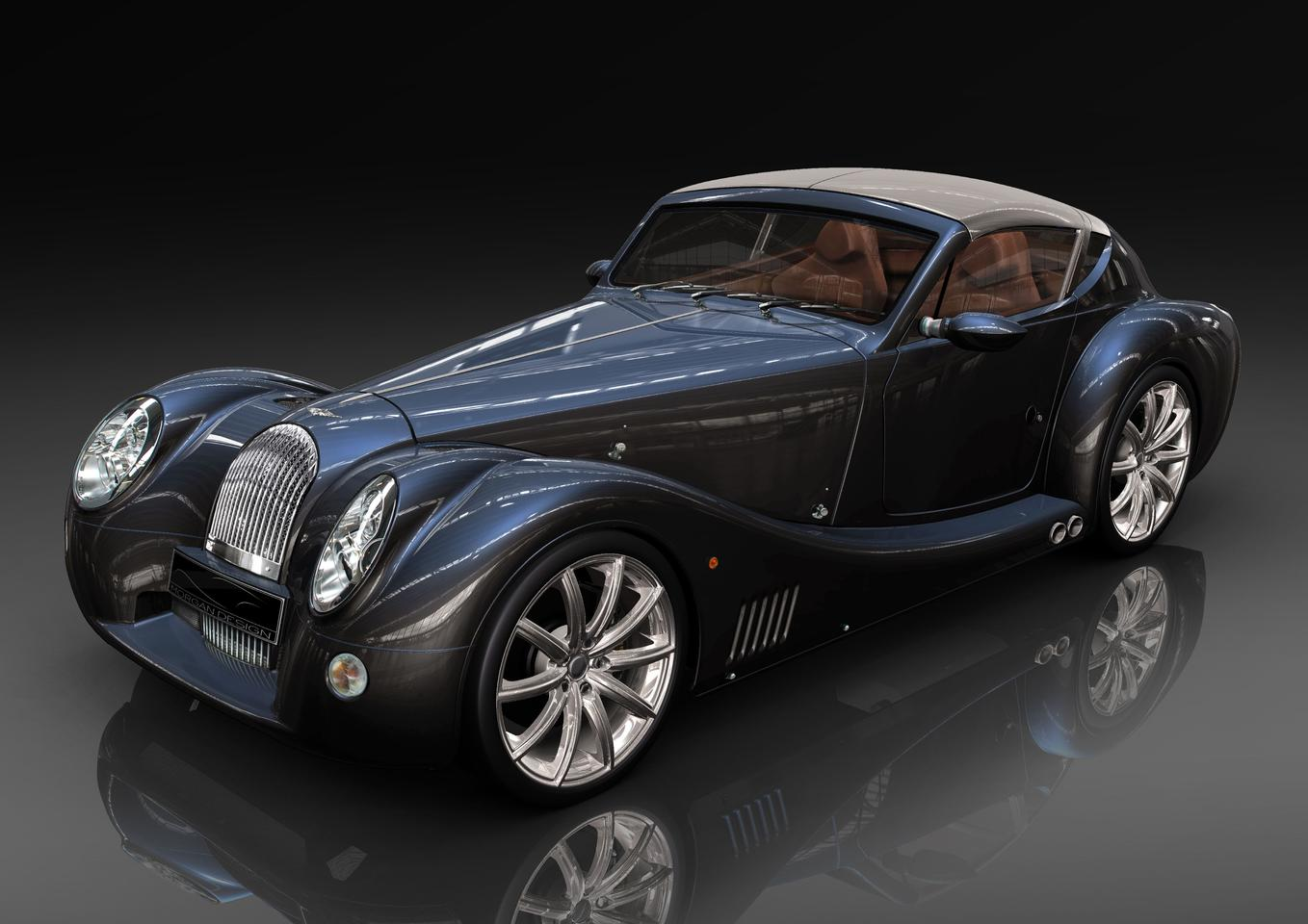 The Morgan Aero SuperSports, which will serve as the base for the electric concept