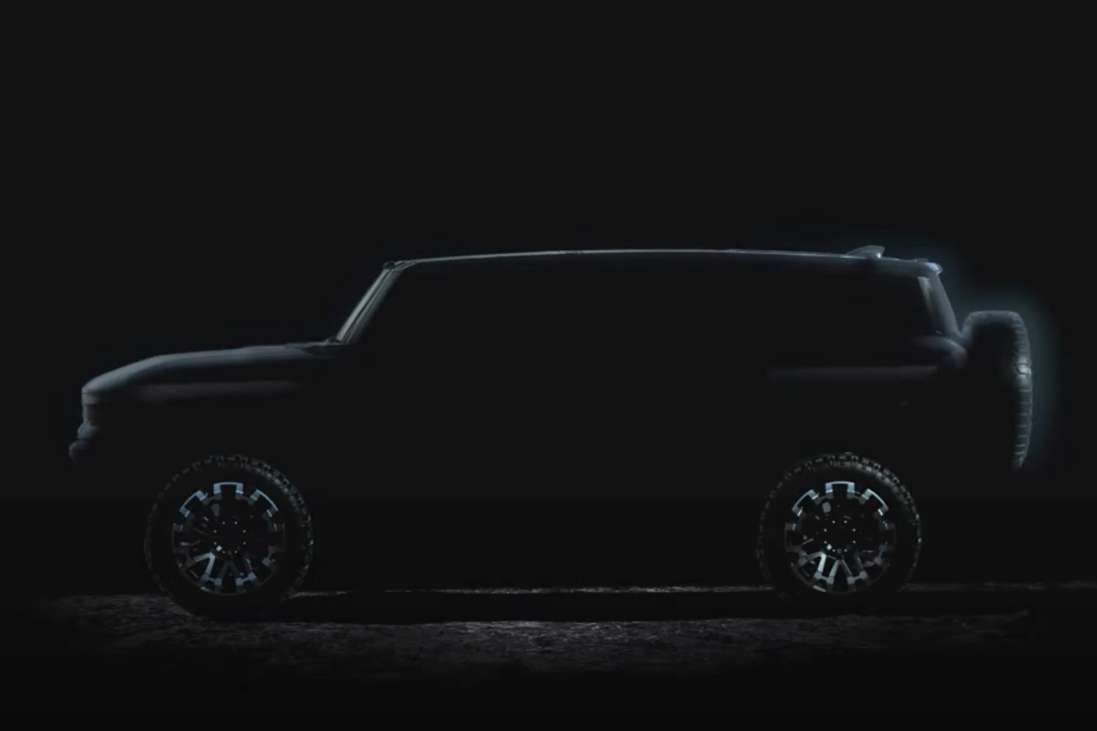 A GMC Hummer SUV will follow the pickup