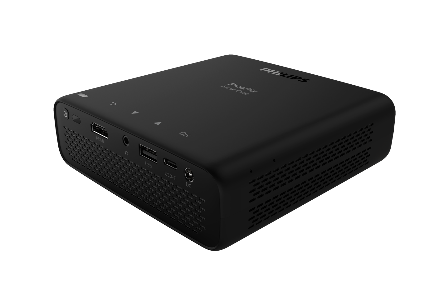 The PicoPix Micro 2 comes with HDMI and USB-C connectivity, and its internal battery should be good for up to three hours of use between charges