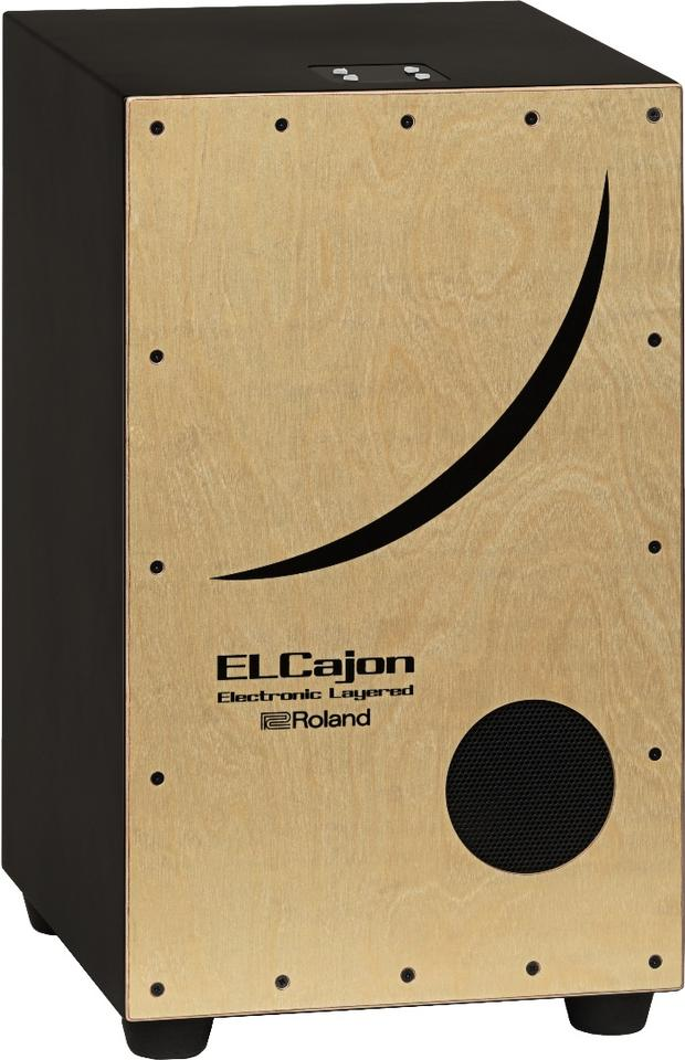 The 495 x 298 x 295 mm (19.5 x 11.7 x 11.6 in) EC-10 comprises an MDF resonance box with a sapele ply playing surface out front